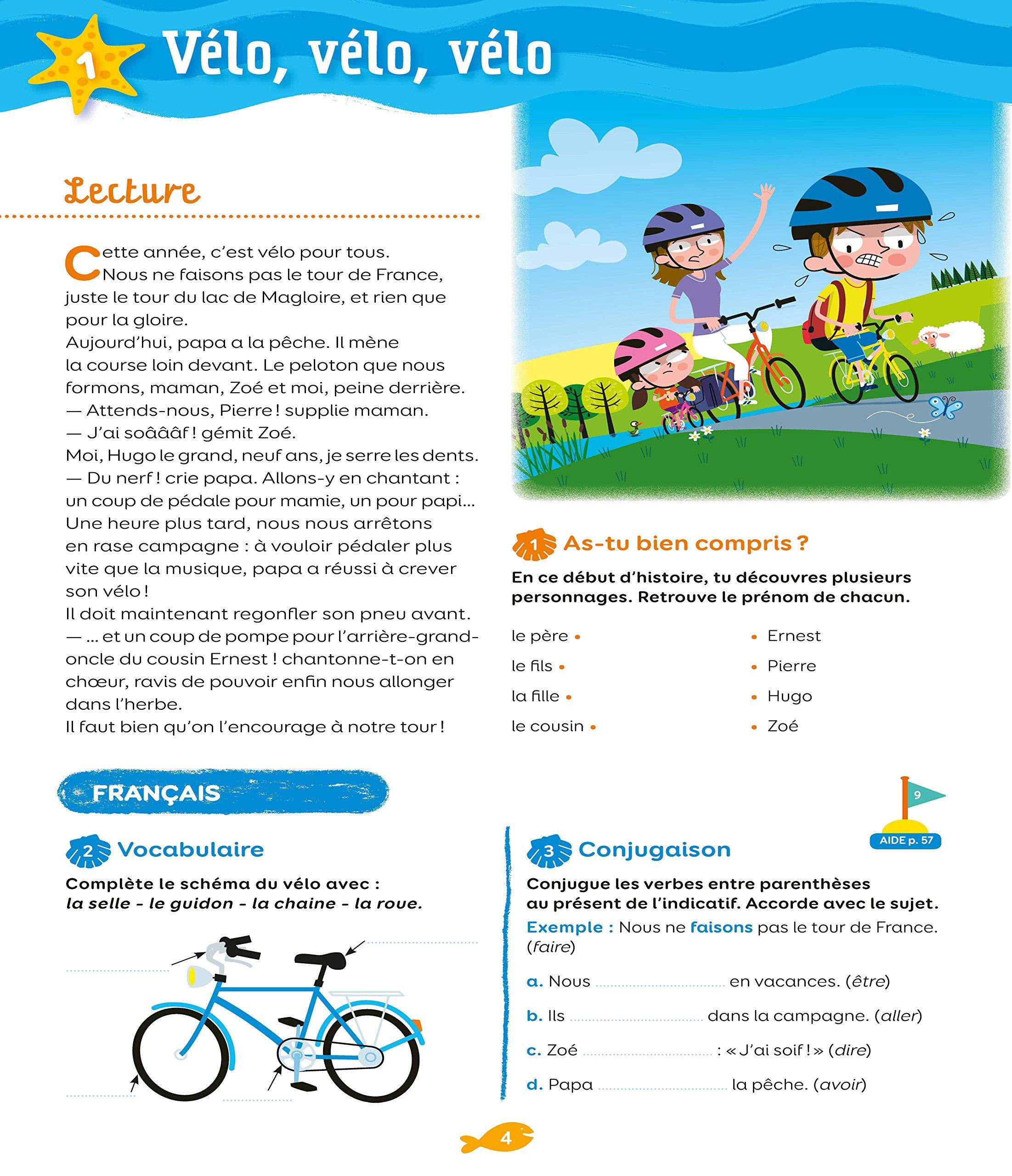Nathan vacances primaire CE1 vers le CE2 7/8 ans: Amazon.es: Pierre Colin, Bénédicte Colin, Sandrine Guilloré-Chotard, Christine Beigel, Mathieu Rocher: ...