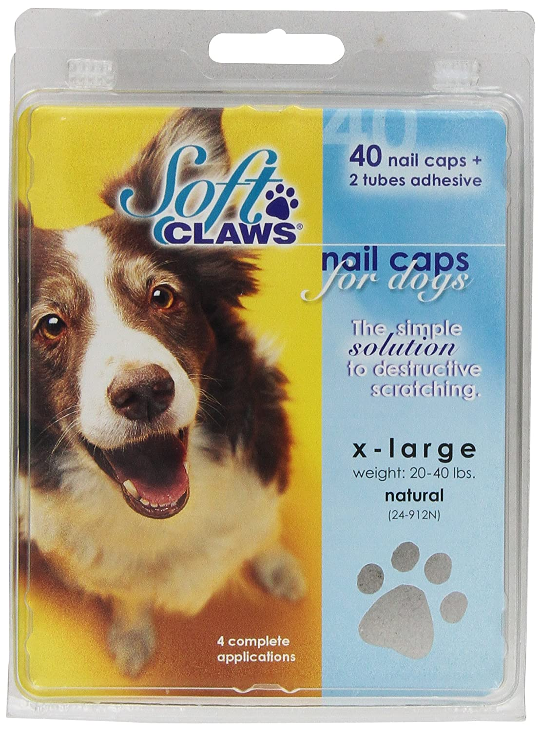 Pet Nail Clippers : Amazon.com: Soft Claws Dog Nail Caps Take Home ...