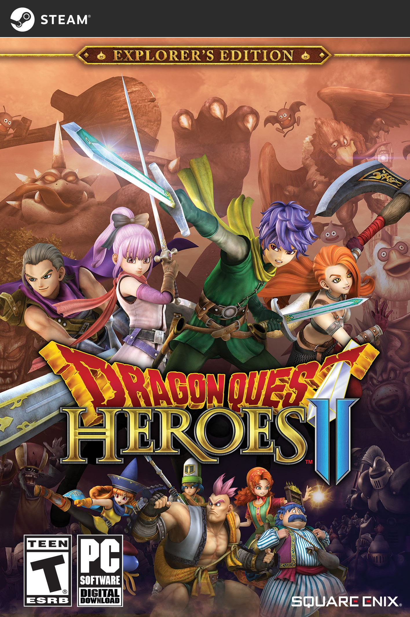 Dragon Quest Heroes II: Explorer's Edition [Online Game Code] by Square Enix