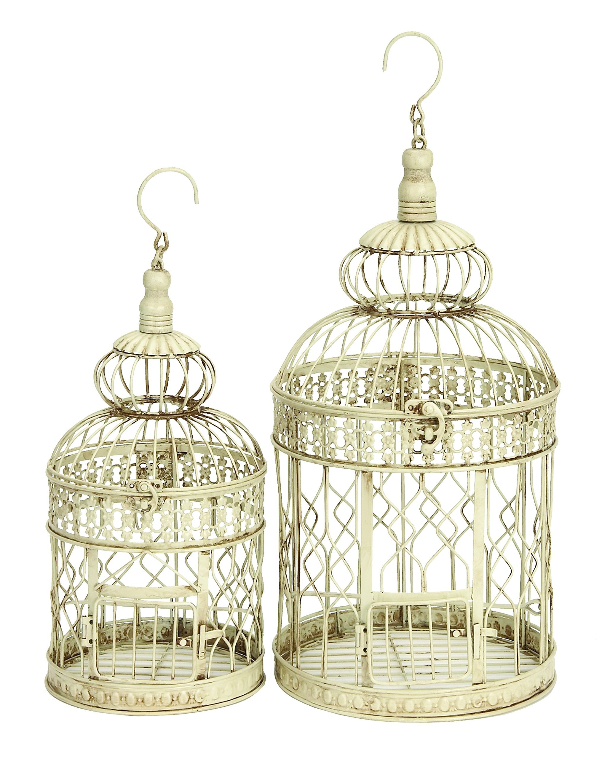 NEW Vintage Antique Bird Cage Decorative Wedding Wall Hanging