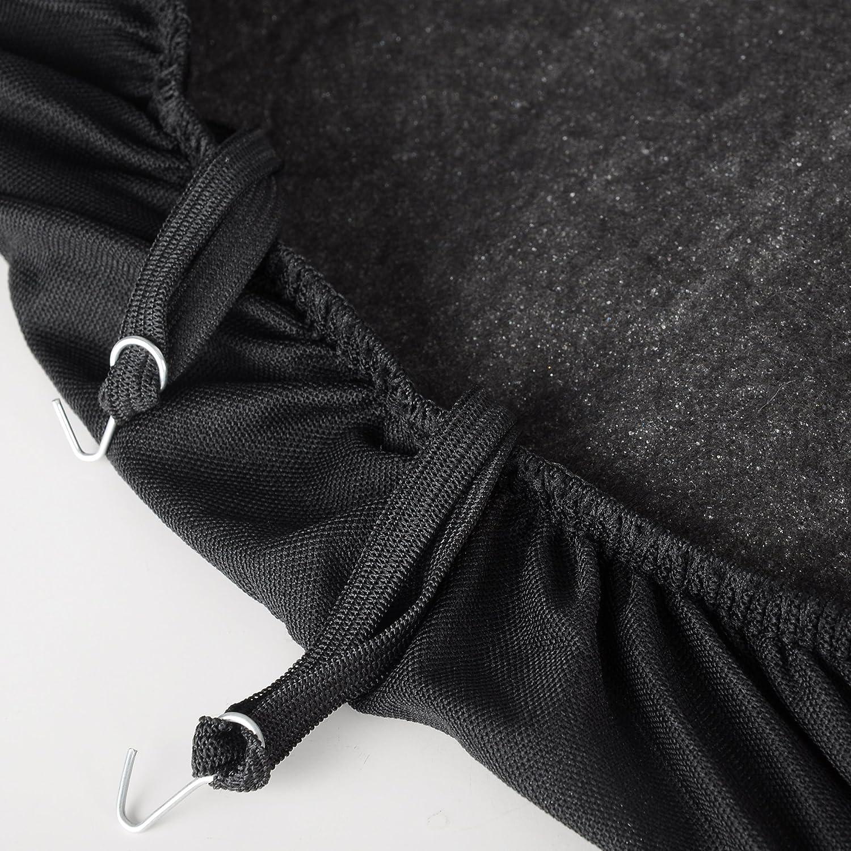 Negro Bordado de Mariposa Woltu AS7251 Fundas de Asiento universales para Fundas de Asiento de Coche Fundas de Asiento protecci/ón de la Cubierta