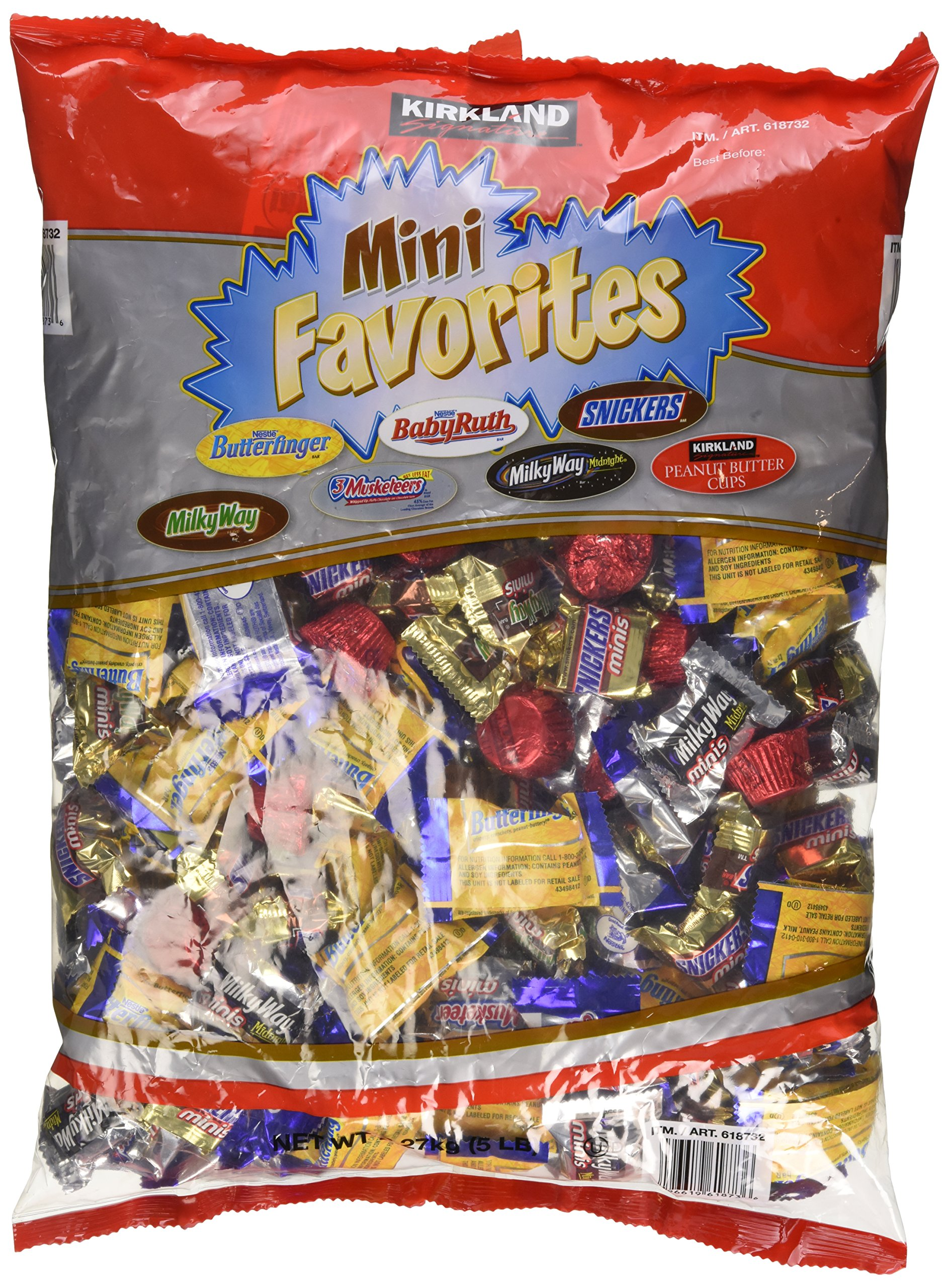 Chocolate Mini Favorites Candies 5 lb Bag by Kirkland Signature