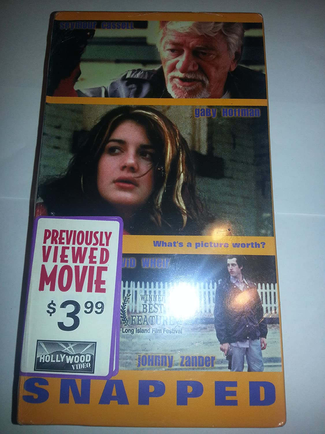 Amazon com: Snapped: Seymour Cassell, Gaby Hoffman, David
