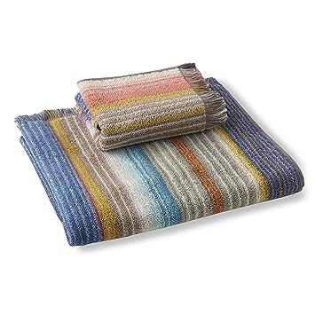 Missoni VIVIETTE - Juego de toallas de mano y baño (100 unidades): Amazon.es: Hogar