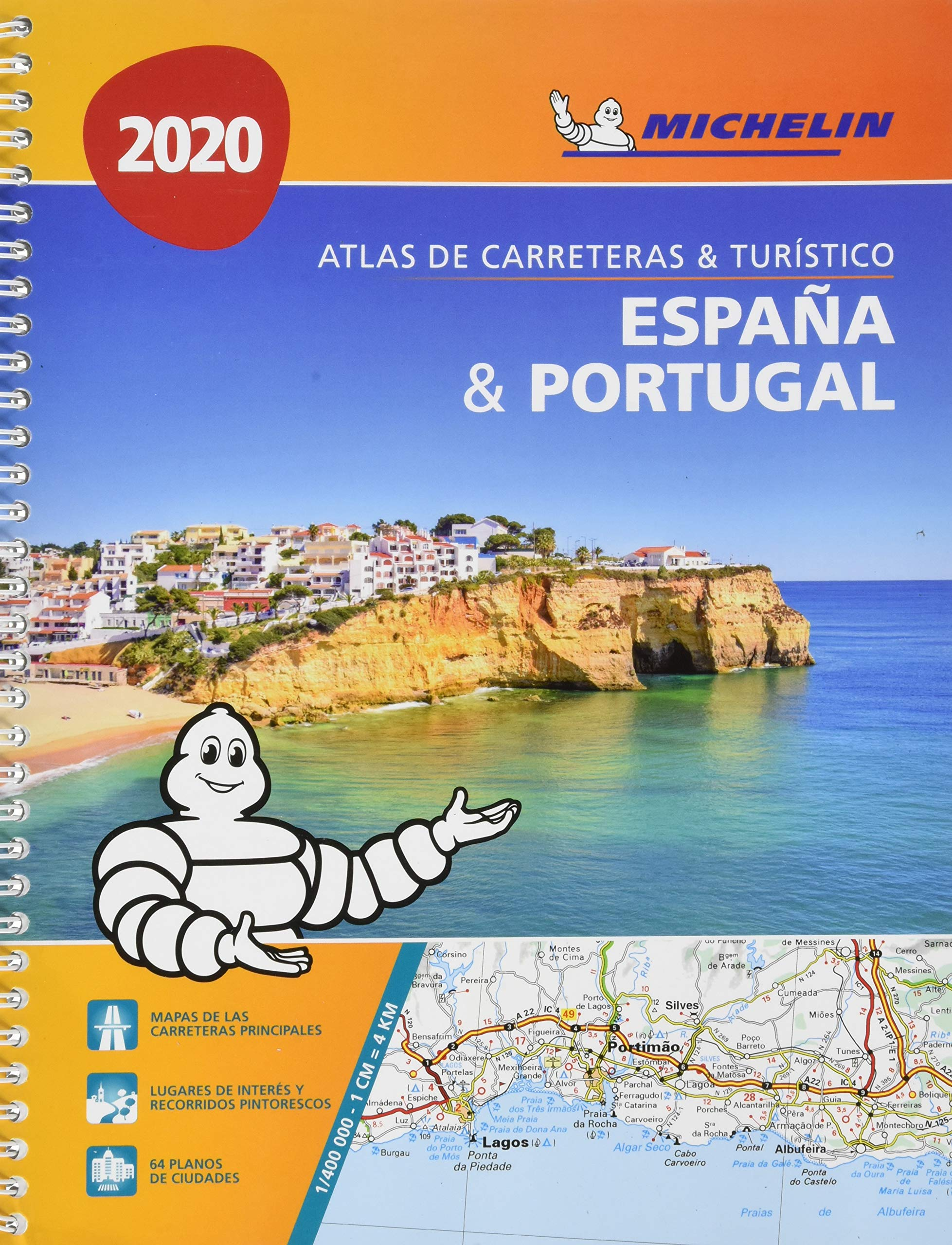 España & Portugal formato A-4 Atlas de carreteras y turístico Atlas de carreteras Michelin: Amazon.es: MICHELIN: Libros