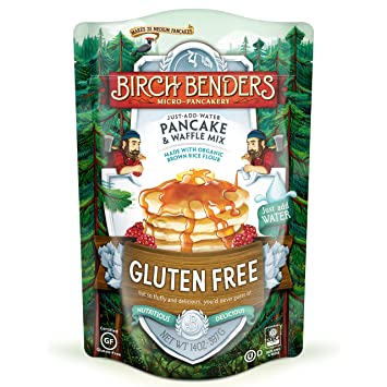 Gluten-Free Pancake and Waffle Mix by Birch Benders, Made with Organic  Brown Rice Flour, Potato,