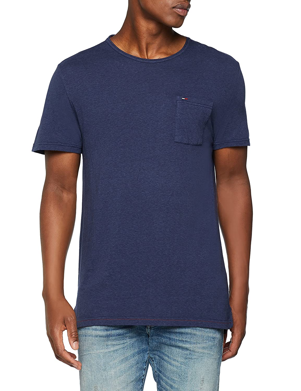 Tommy Jeans Men's TJM Essential Garment Dye Tee Vest Tommy_Jeans DM0DM04575