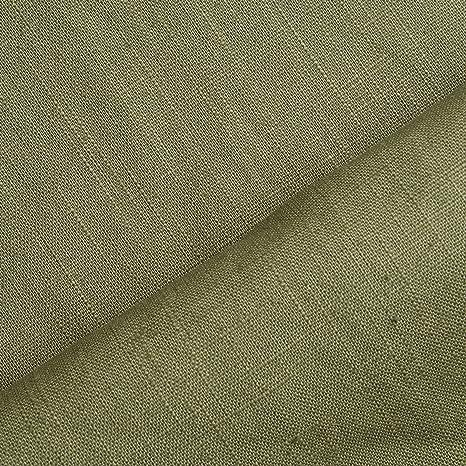 8 99 M Holmar Tissu De Lin De Qualité Supérieure Prélavé En Fibres Naturelles Au Mètre Olive Amazon Fr Bienvenue