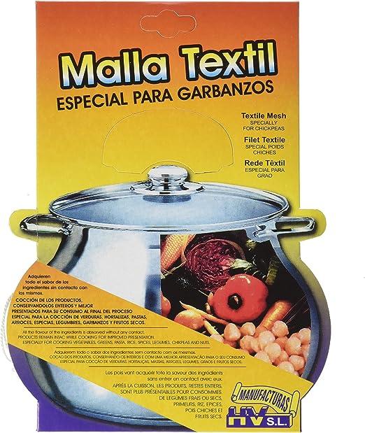 HV - Malla Textil de Cocción - Especial Garbanzos - Hecha en España - Set de 3: Amazon.es: Hogar