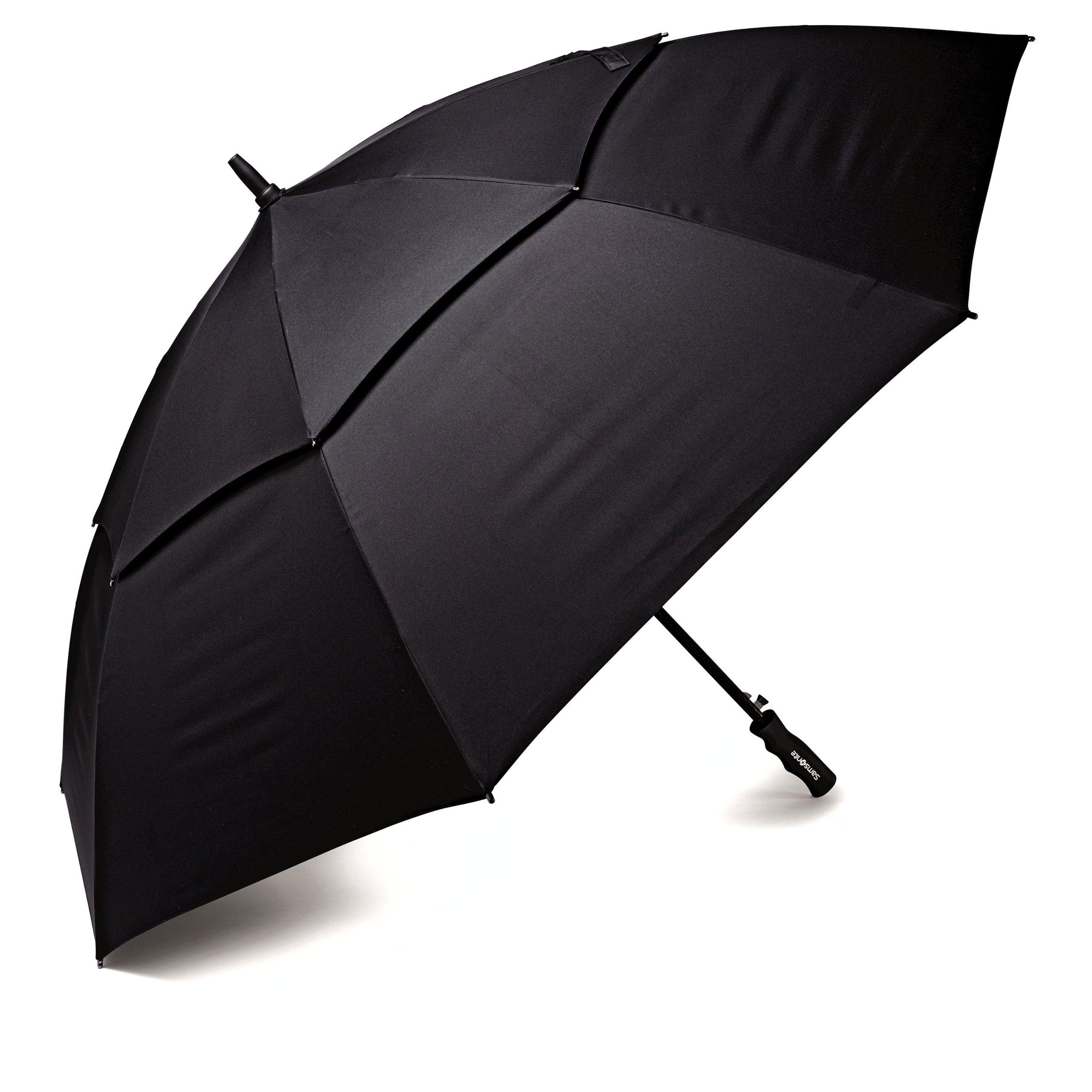 Samsonite Windguard Golf Umbrella, Black by Samsonite