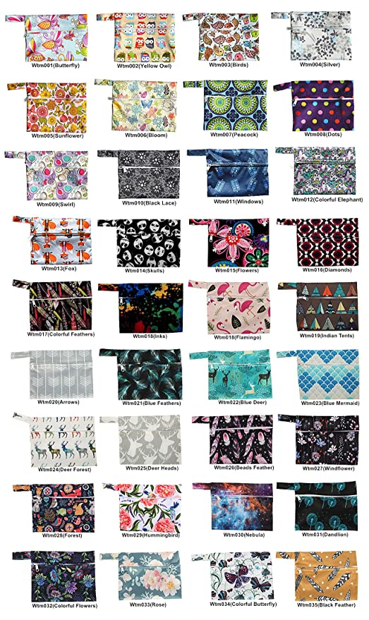 Cloth Diapers Wet Bag Cloth Pads Wet Bag for Family Cloth Gym Bag Eco Friendly Bag Eco Friendly Kitchen Swim Bag Eco Friendly Gifts