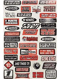 Factory Effex (07-68012) Sponsor/Logo Sticker Sheet