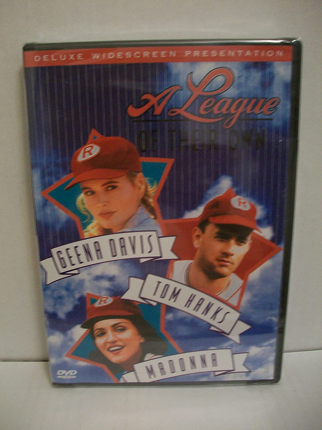 A League Of Their Own Tom Hanks, Geena Davis, Madonna, Lori Petty, Jon Lovitz, David Strathairn, Garry Marshall, Megan Cavanaugh, Rosie O'Donnell, Renee Coleman