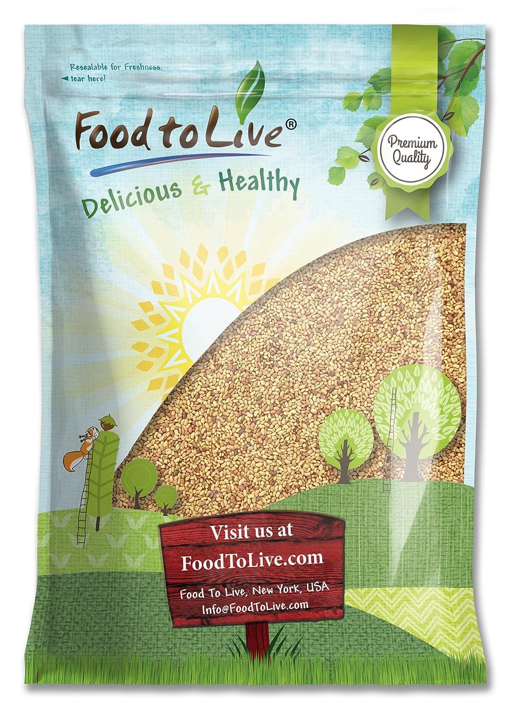 Alfalfa Sprouting Seeds, 5 Pounds - Kosher, Bulk