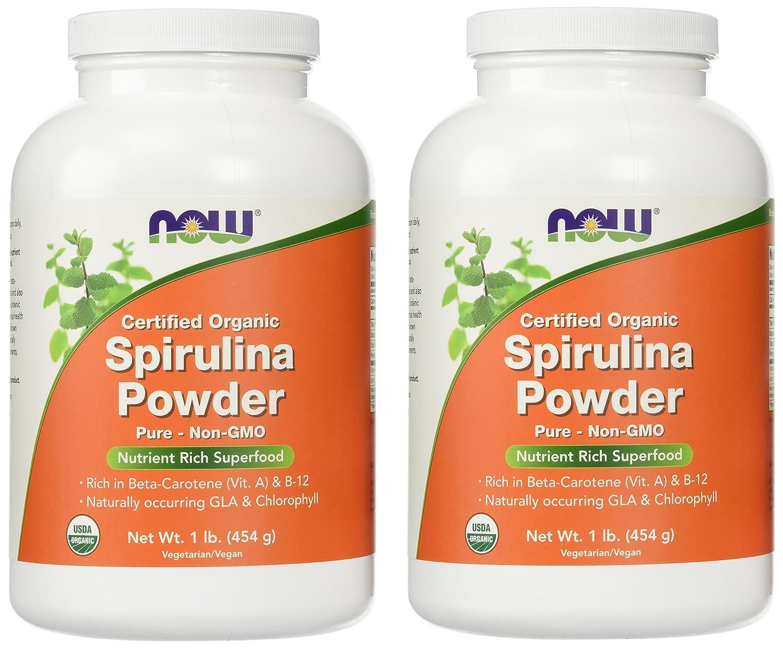 Now Foods Organic Spirulina Powder