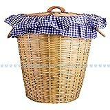 JGC Bamboo made Laundry bin (Linen Covered)