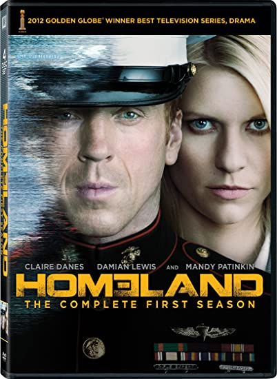 Amazon Com Homeland The Complete First Season Claire Danes Damian Lewis Movies Tv