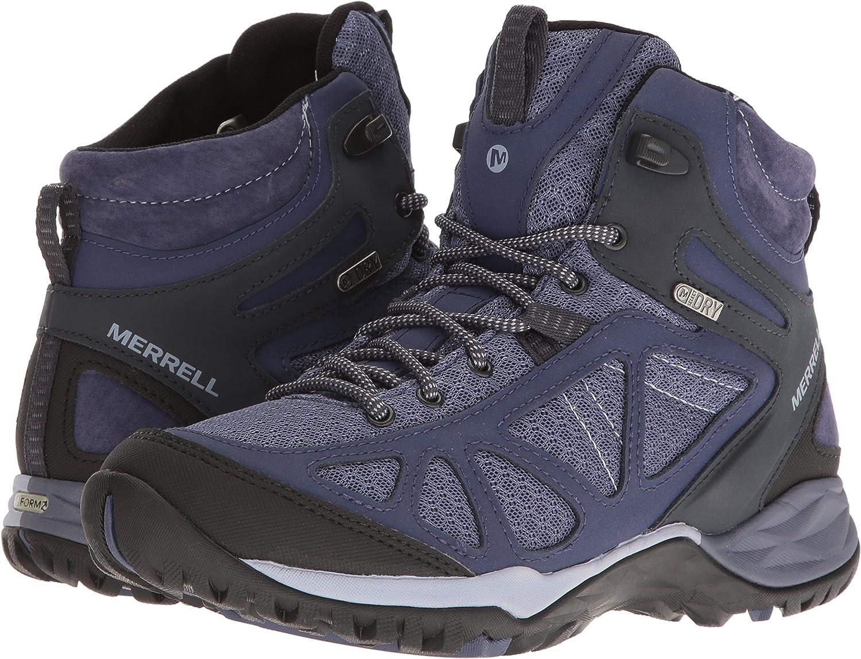 Merrell Womens Siren Sport Q2 Mid Waterproof Hiking Boots