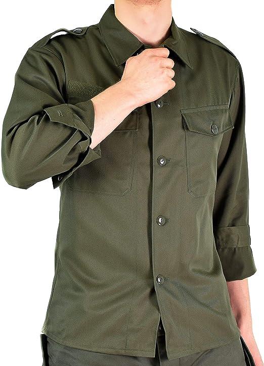 Mens Stylish Genuine Military Field Army Combat Jacket BDU Coat Vintage Surplus