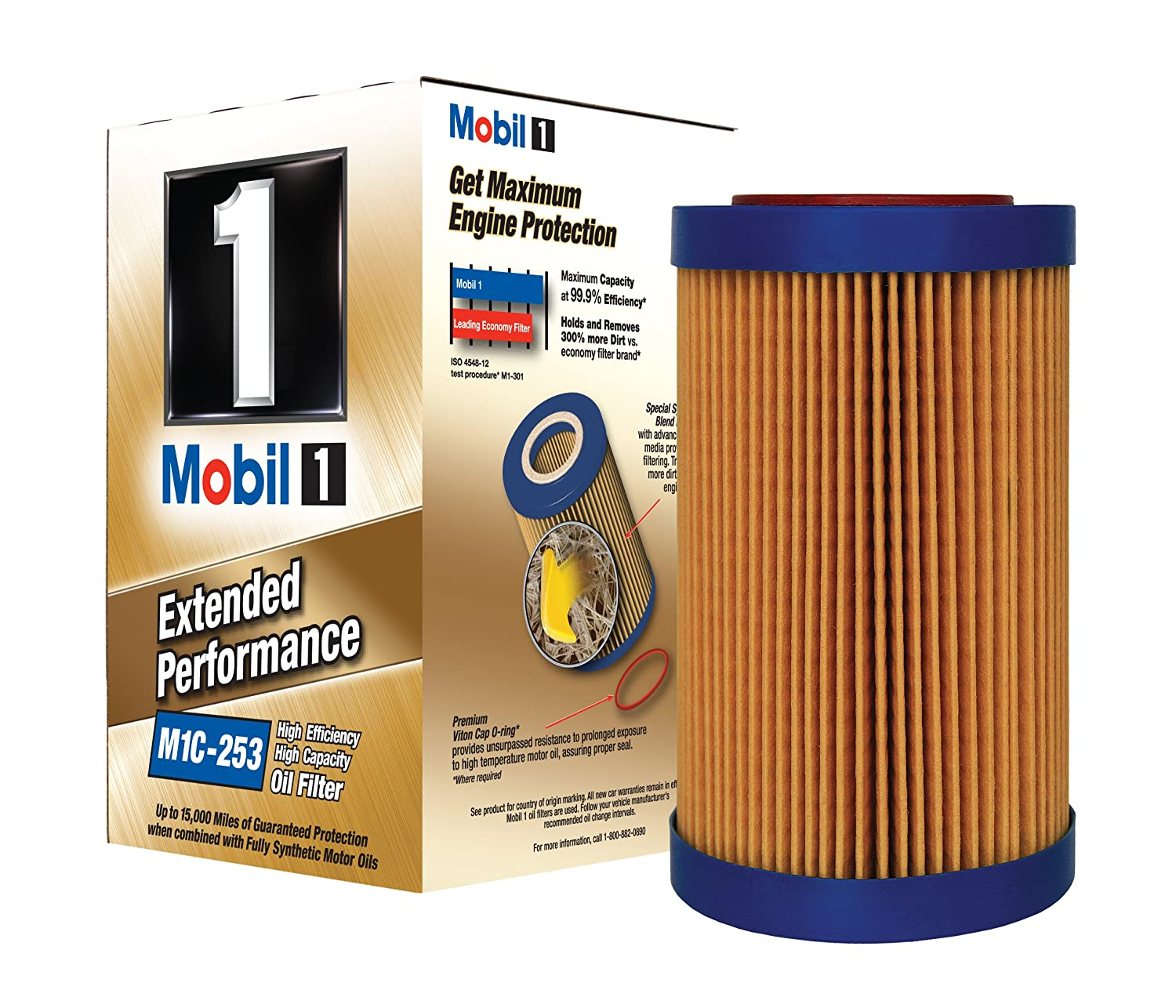 Mobil 1 M1c 253 Extended Performance Oil Filter Pack Of S420 Fuel 2 Automotive