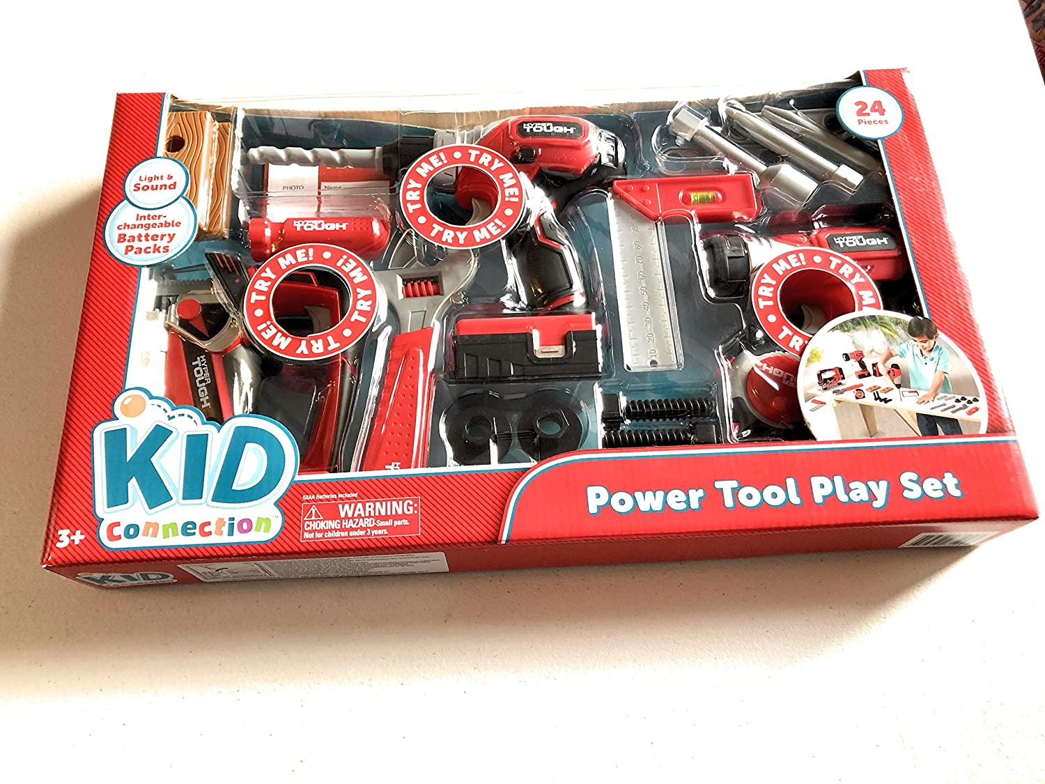 Kids Connection 20 Piece Power Tools Play Set