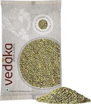 Amazon Brand - Vedaka Fennel Seeds (Saunf), 200g