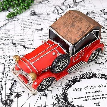 ZYJ Vintage British Car Piggy Bank Home Regalo Creativo ...