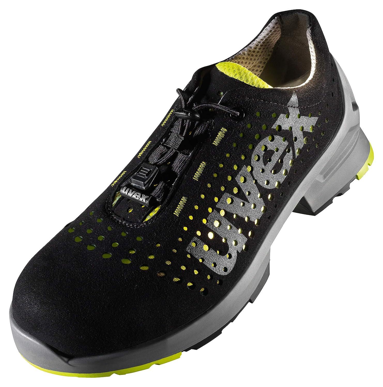 Uvex 8512.8 Mens Safety Trainer Shoes ESD Metal-Free Toe Cap Work Footwear Black