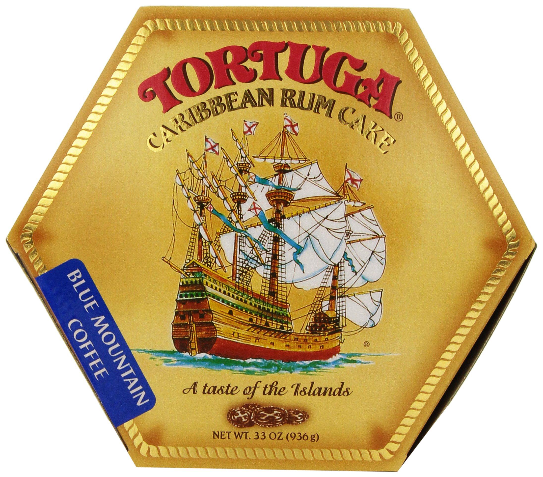 TORTUGA Caribbean Blue Mountain Rum Cake - 32 oz. - The Perfect Premium Gourmet Gift by TORTUGA (Image #1)