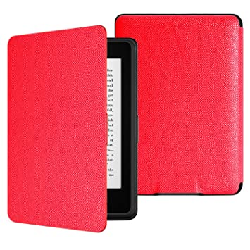 Ultra Slim Ligera Smart Shell Case Cover con Auto Estela//Sue/ño Estilo Vintage MoKo Kindle Paperwhite Funda