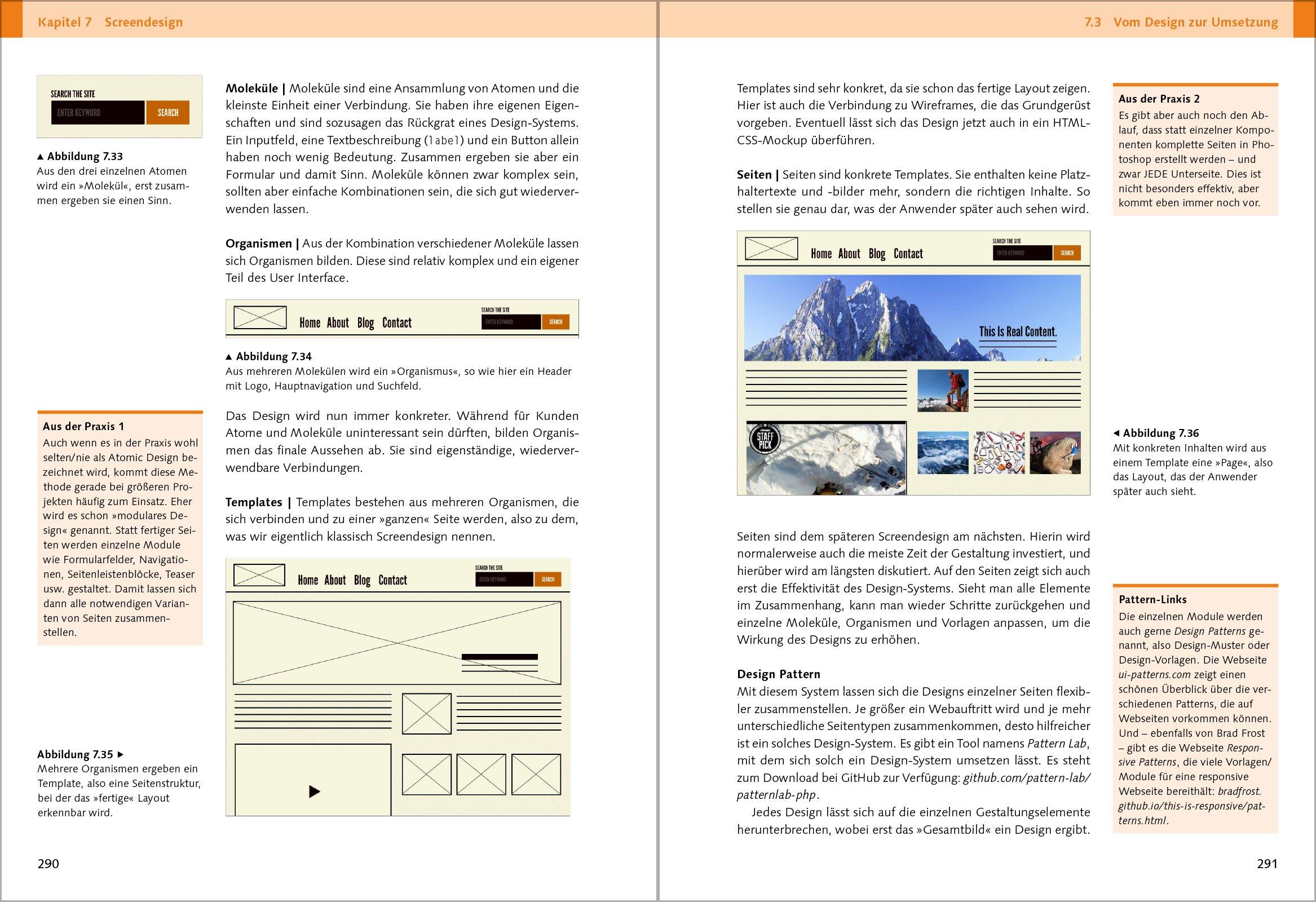 Webdesign: Das Handbuch zur Webgestaltung: Amazon.de: Martin Hahn ...