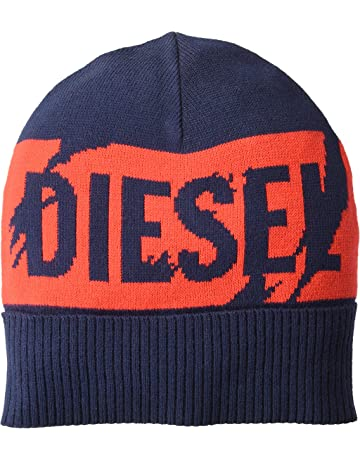 072e4add7bea0 True Religion Men s Ribbed Knit Watchcap with Patch · Diesel Men s K-Becky  Cap