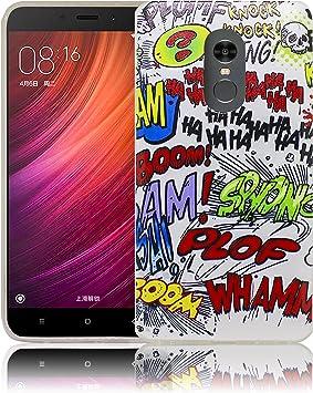 Xiaomi Redmi Note 4 / Note 4X Comic Haha Funda de Silicona ...