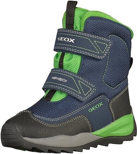 Geox JJ Orizont ABX F, Bottes de Neige garçon