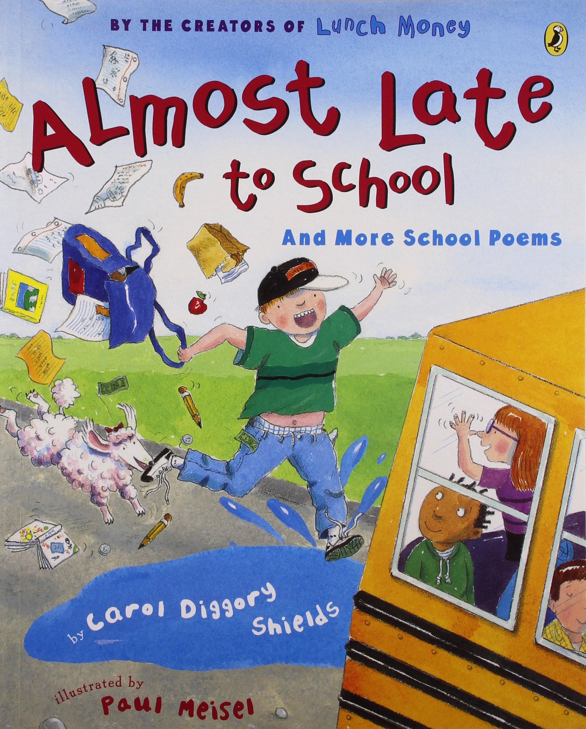 almost late to and more poems picture puffin books