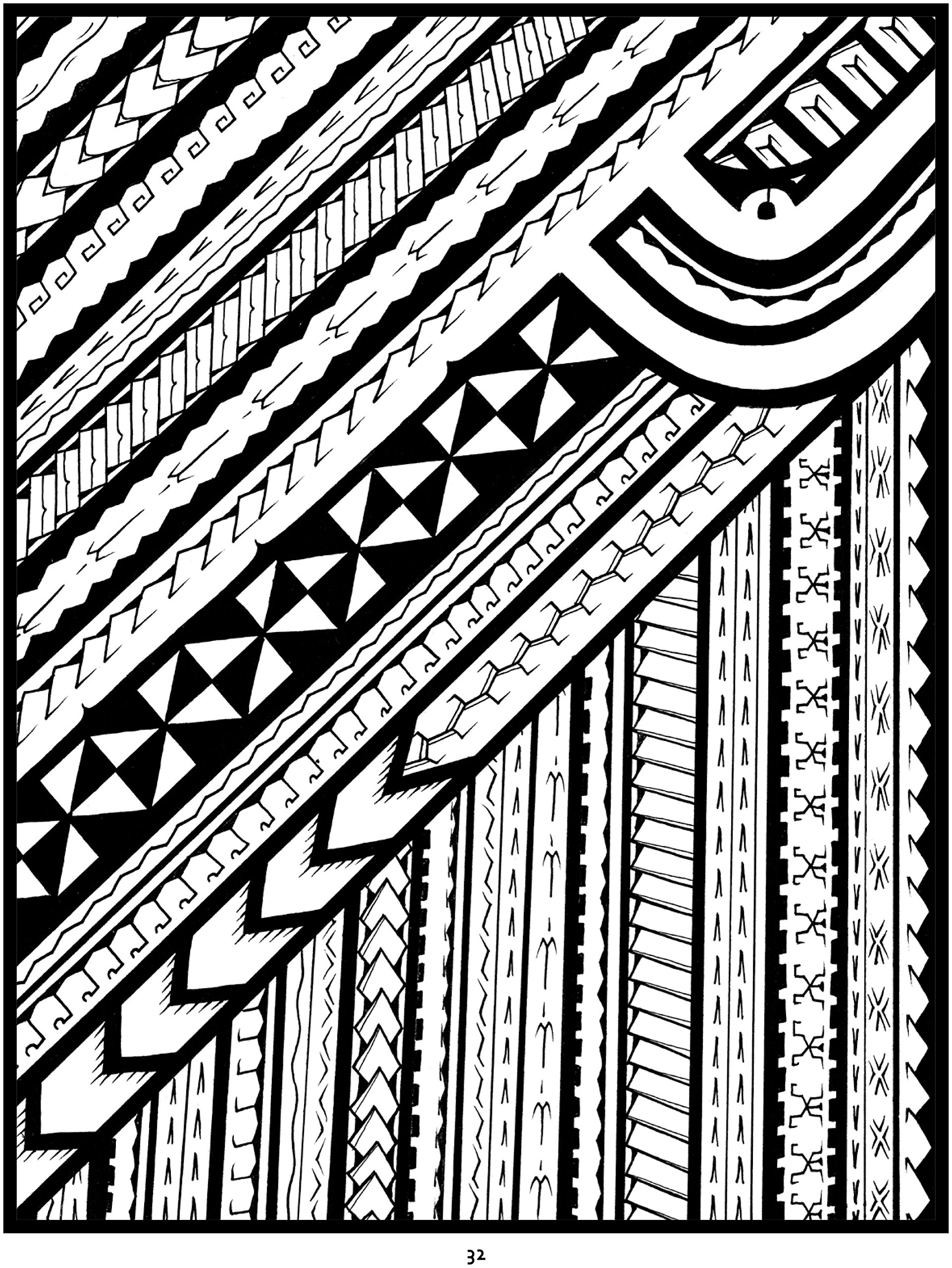 534353c8c Amazon.com: Tattoo: A Coloring Book of Polynesian Art by Anthony J. Tenorio  (0717195246570): Anthony J. Tenorio: Books
