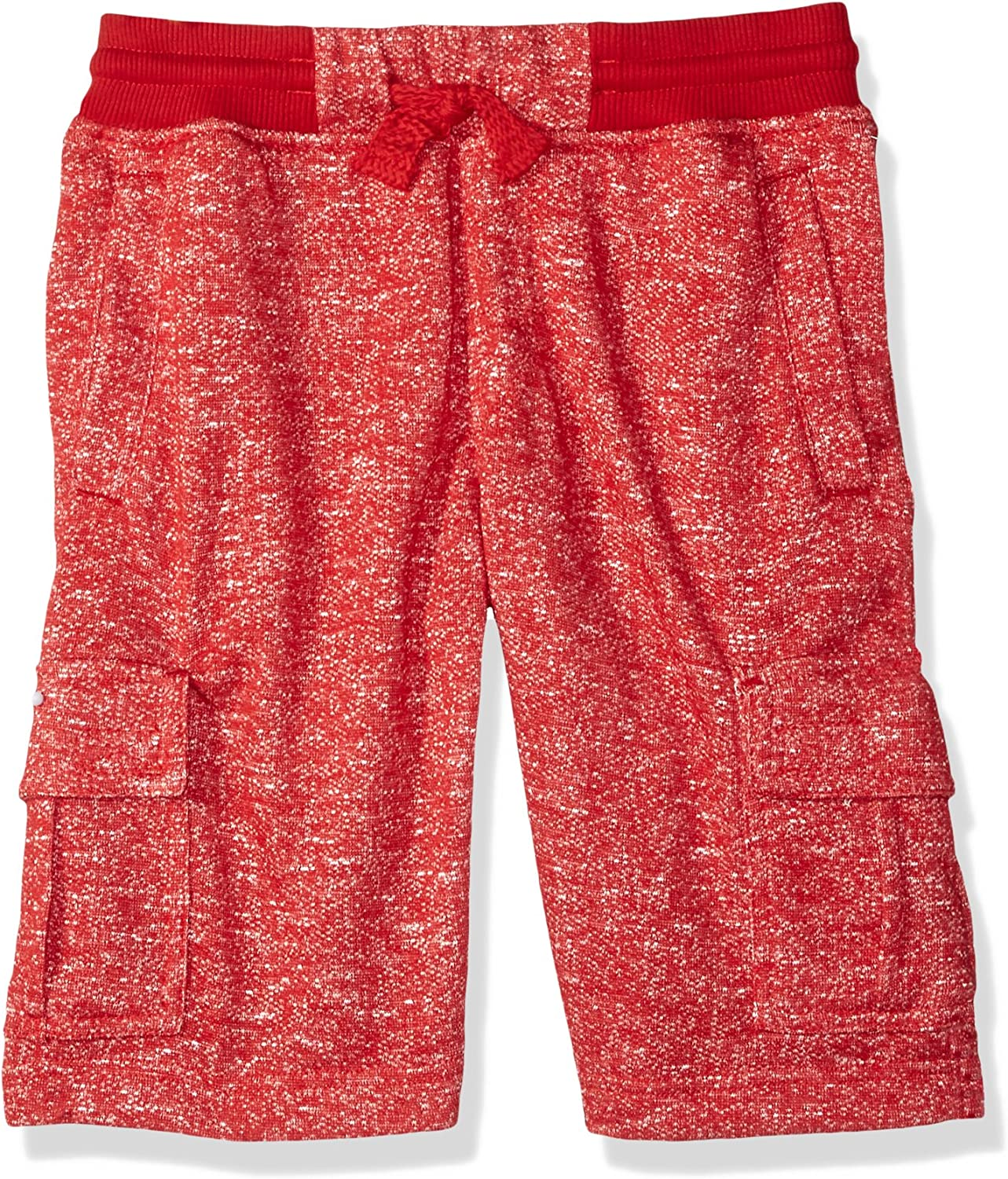 Southpole Boys Big Basic Light Jogger Shorts in Marled French Terry