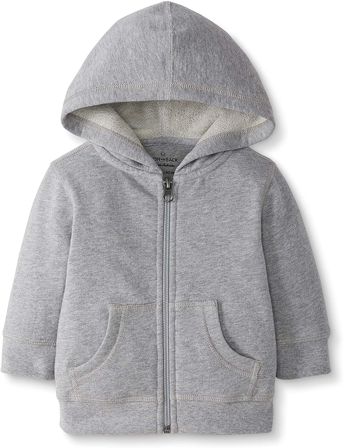 Moon and Back by Hanna Andersson Girls' Hooded Sweatshirt: Clothing