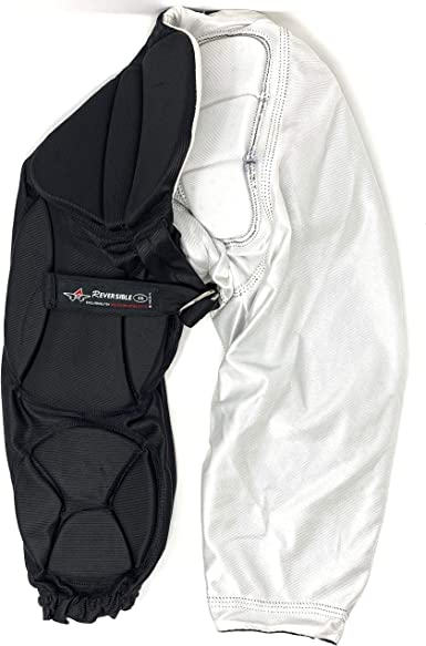 Alleson Youth Football Pants Pads Black White Large YL