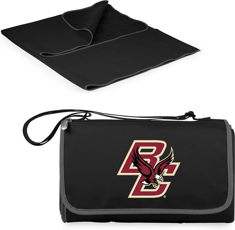 Black NCAA Boston College Eagles Outdoor Picnic Blanket Tote