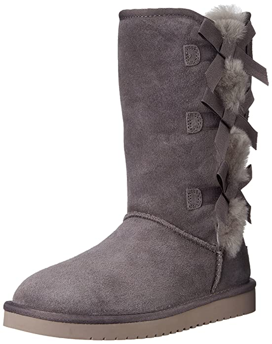 Koolaburra by UGG Women's Victoria Tall Winter Boot, Rabbit, 8 M US