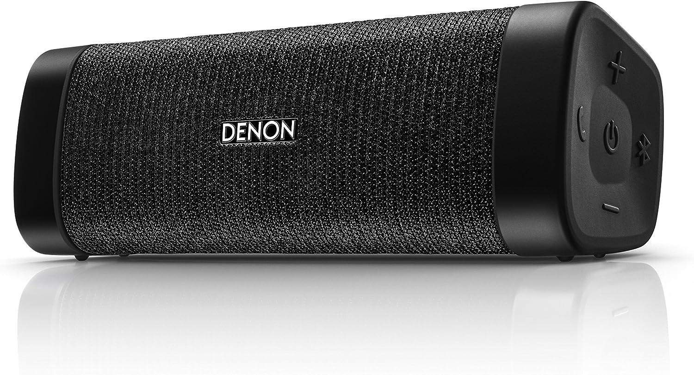 Denon Envaya Pocket DSB-50BT Negro - Altavoces portátiles (4 cm, Inalámbrico, Bluetooth/3.5 mm, A2DP,AVRCP,HFP,HSP, 30 m, Negro)