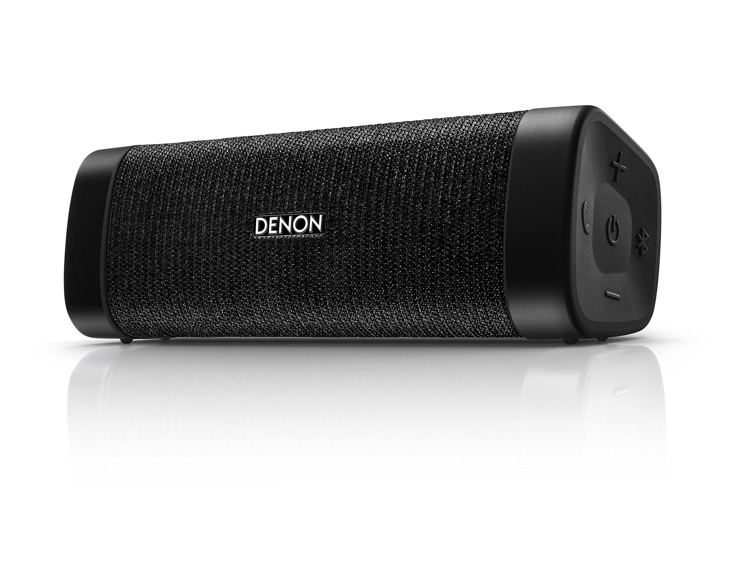 Denon DSB-50BT Envaya Pocket Portable Premium Bluetooth Speaker - Black