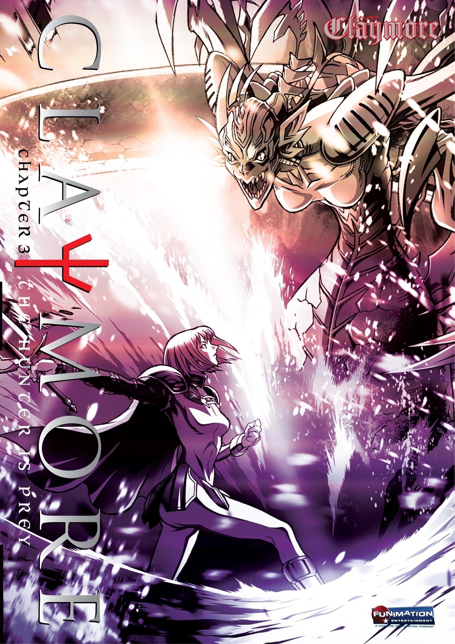 DVD : Claymore: Volume 3: The Hunter Is Prey (Uncut, Widescreen)
