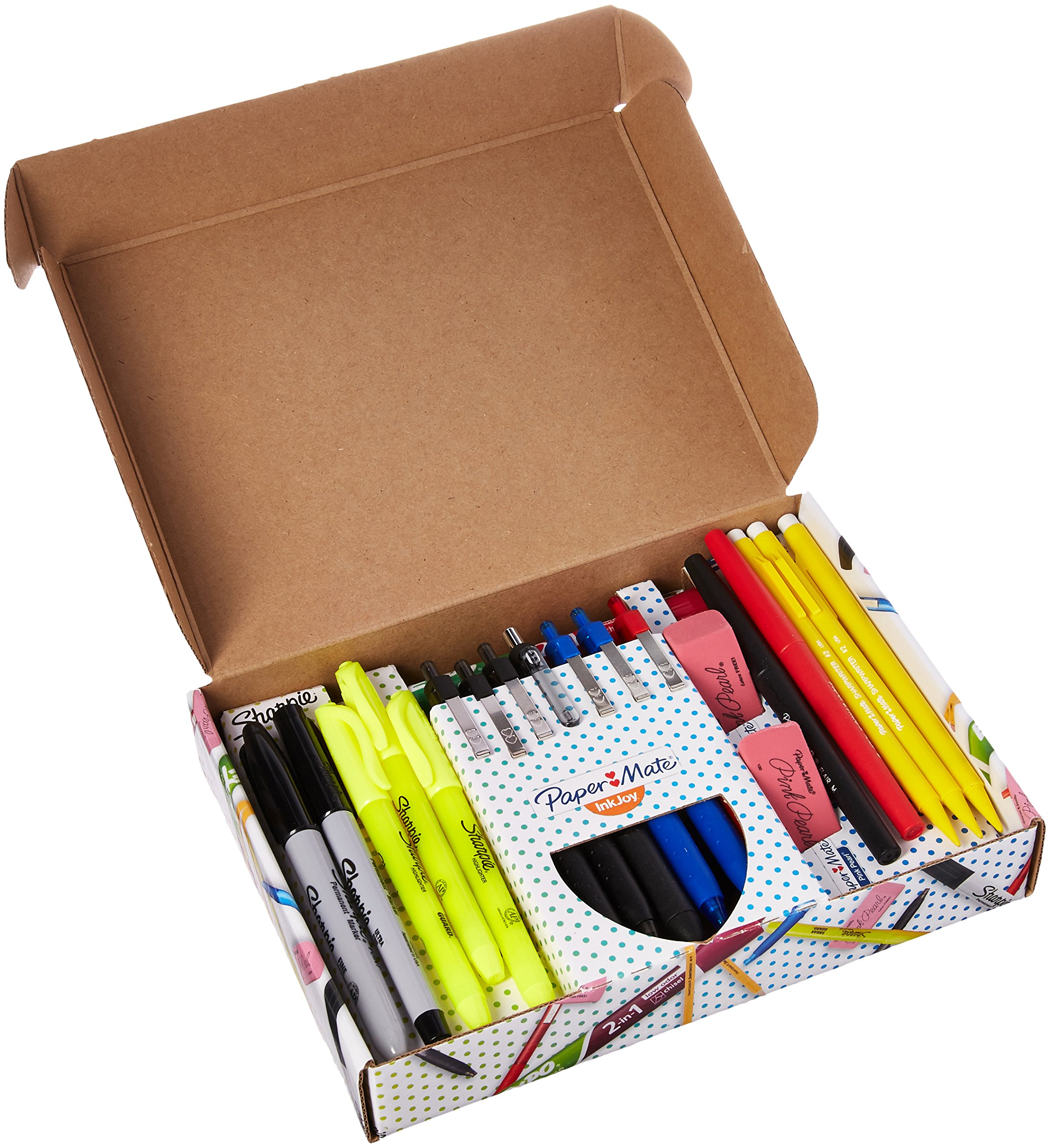 Details about School Writing Kit Set Pack Sharpie Paper Expo Sharpie  Markers Highlighter Notes