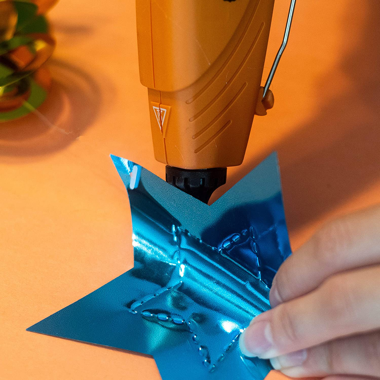 Gorilla Dual Temp Hot Glue Gun, Mini, Orange, (Pack of 1): Home Improvement