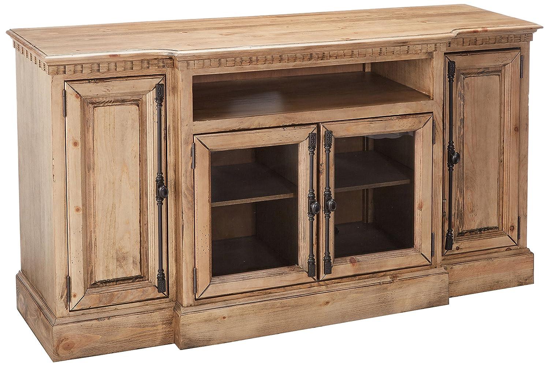 Progressive Furniture Andover Court 68 Inch Console, Light Brown