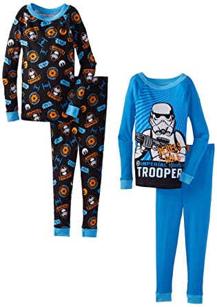 Star Wars Little Boys Rebels 4-Piece Sleep Set, Multi, 2T