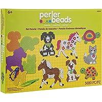 Perler Pet Parade Deluxe Kit de Actividad de abalorio de fusibles, 5019 Piezas