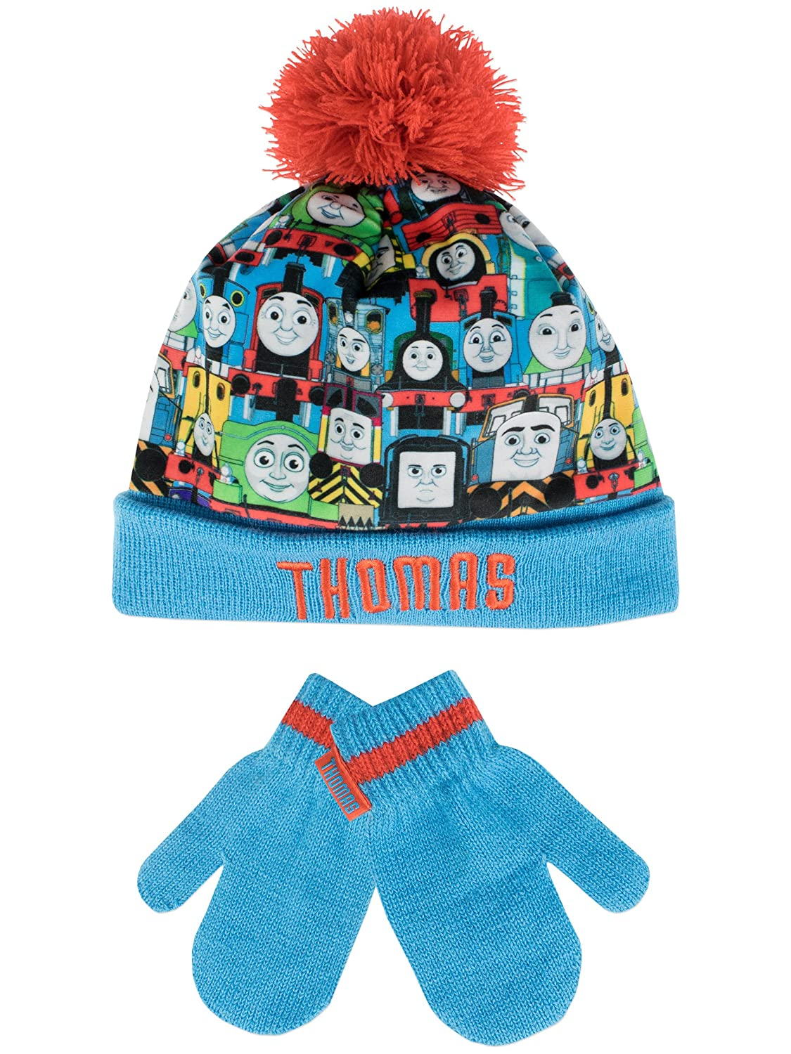 Thomas the Tank Boys Thomas the Tank Engine Hat and Gloves Set Size 6 - 8 Years